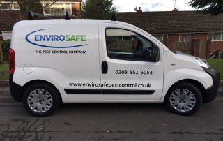 Envirosafe Pest Control Van